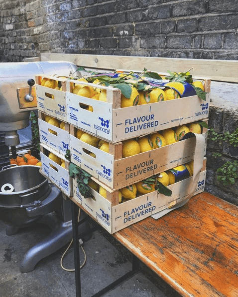 Lemons for Prince Harry and Meghan Markle's wedding cake