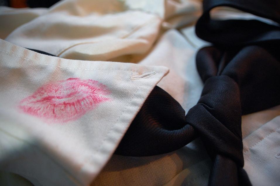 Lipstick stain