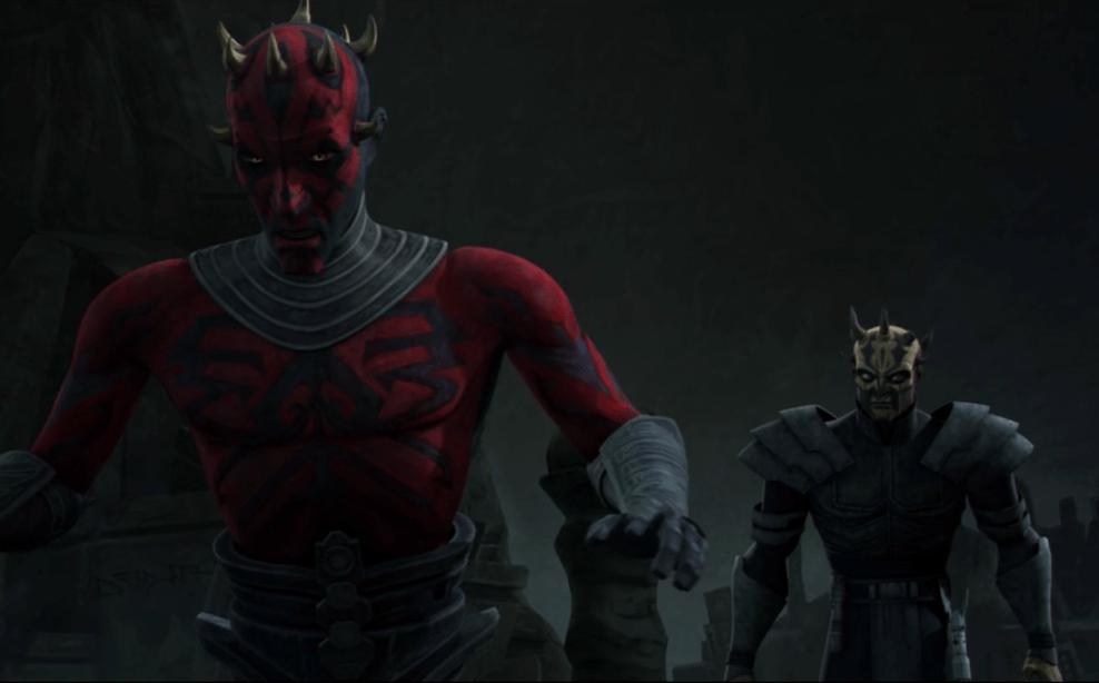 Savage Opress and his brother Darth Maul
