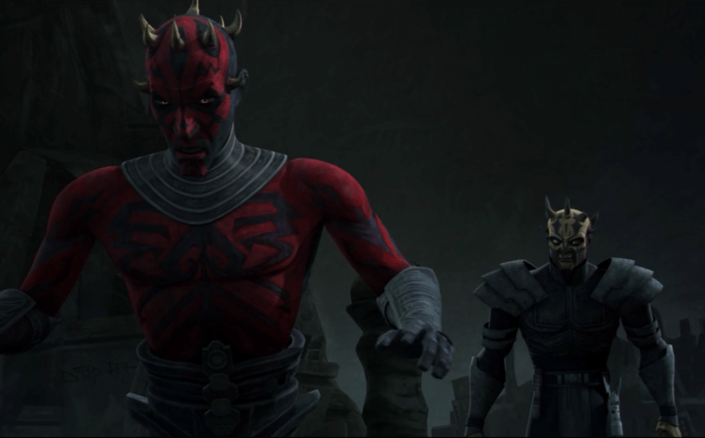 Savage Opress and his brother Darth Maul