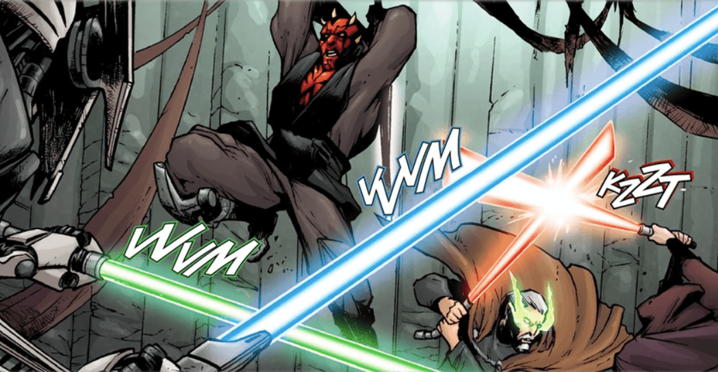Darth Maul faces Grevious