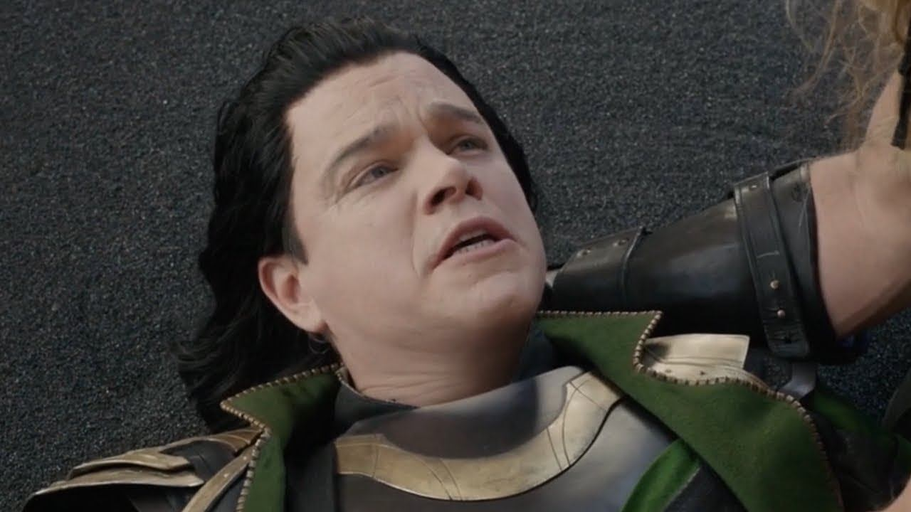 Matt Damon as actor Loki