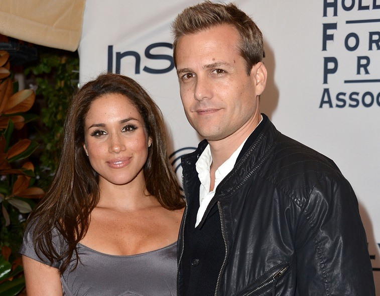 Meghan Markle and Gabriel Macht
