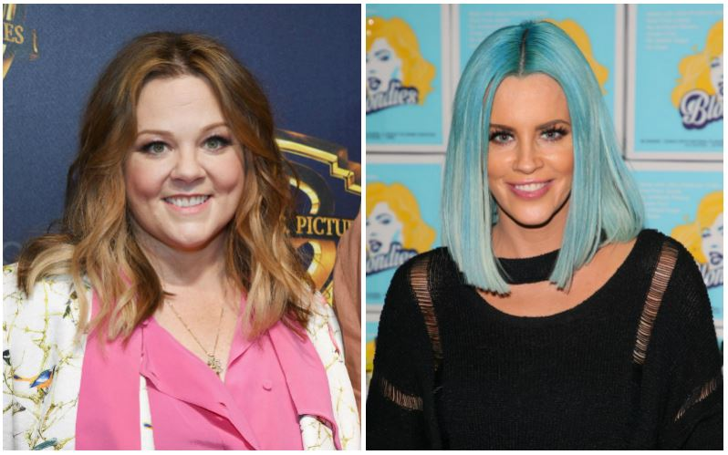 Melissa McCarthy and Jenny McCarthy composite image