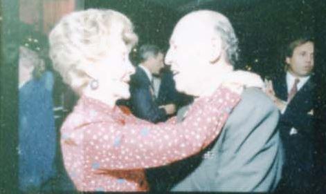 Nancy Reagan and Jerry Zipkin