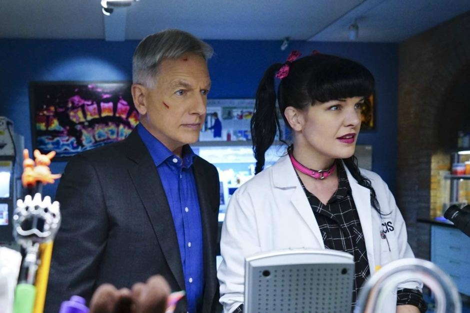 Gibbs and Abby on NCIS