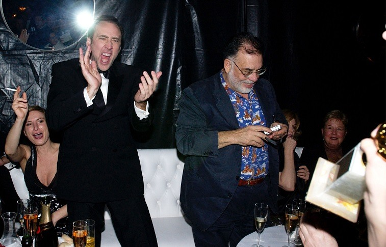 Nicolas Cage and Francis Ford Coppola