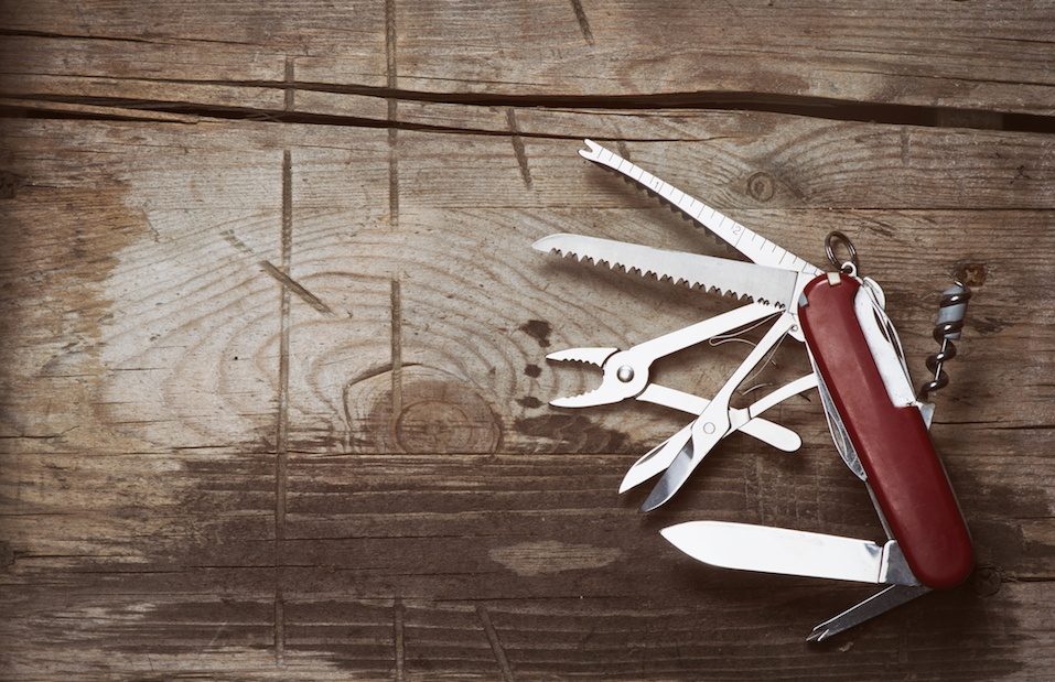 old Swiss knife