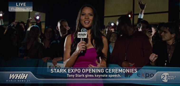 Olivia Munn in Iron Man 2