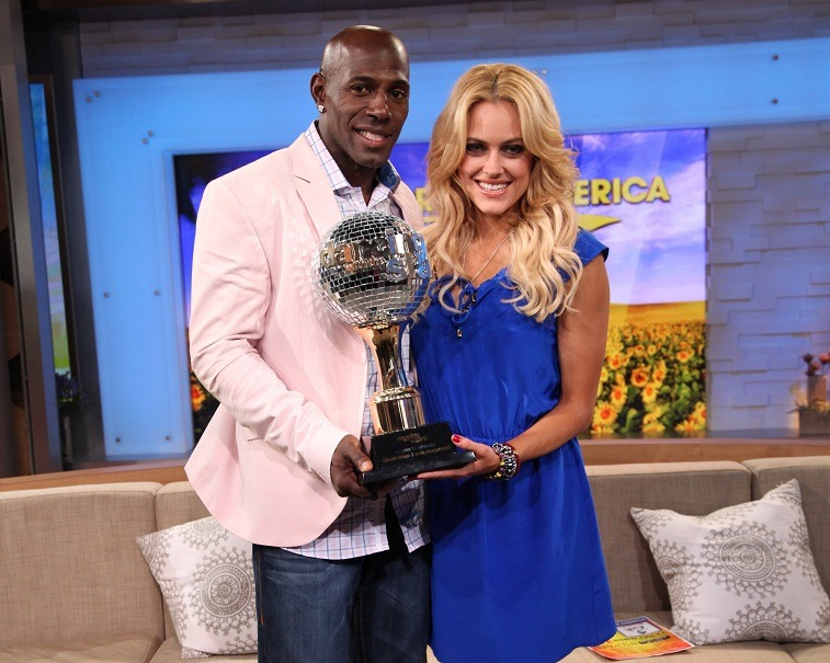Peta Murgatroyd and Donald Driver on Dancing with the Stars