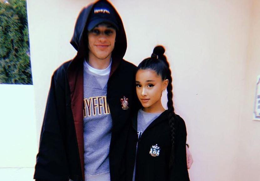 Pete Davidson and Ariana Grande