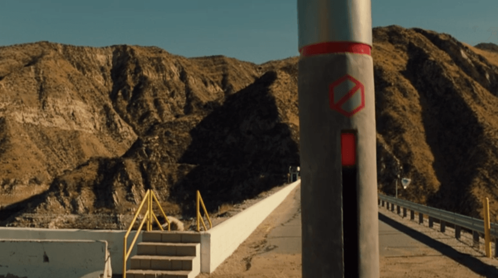 The border between The Raj and Westworld