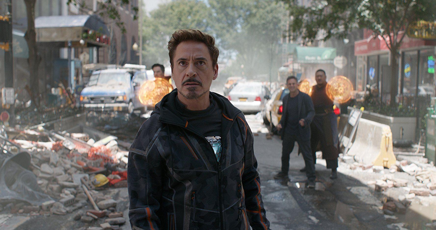 Robert Downey Jr. in Avengers: Infinity War