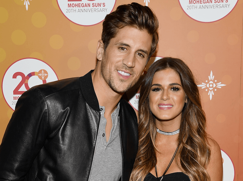 JoJo Fletcher and Aaron Rodgers
