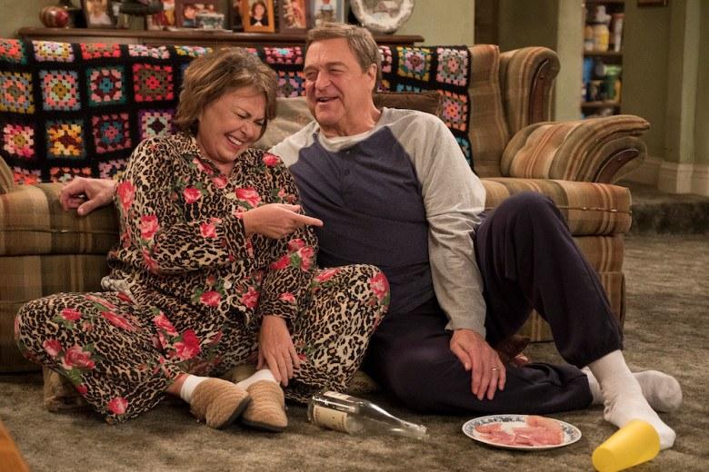 Roseanne and Dan