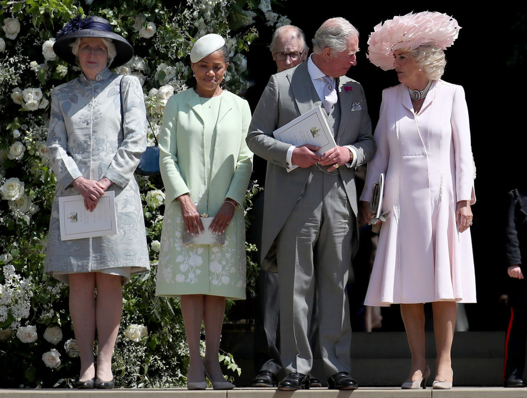 Lady Jane Fellowes, Doria Ragland, Prince Charles, Prince of Wales, Camilla, Duchess of Cornwall