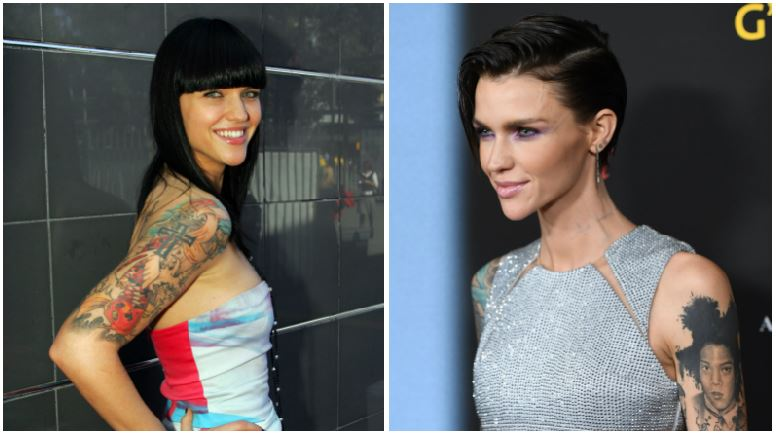 Ruby Rose composite image