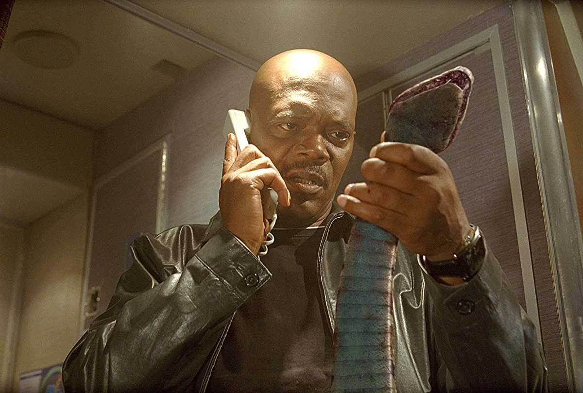 Samuel L. Jackson in Snakes on a Plane