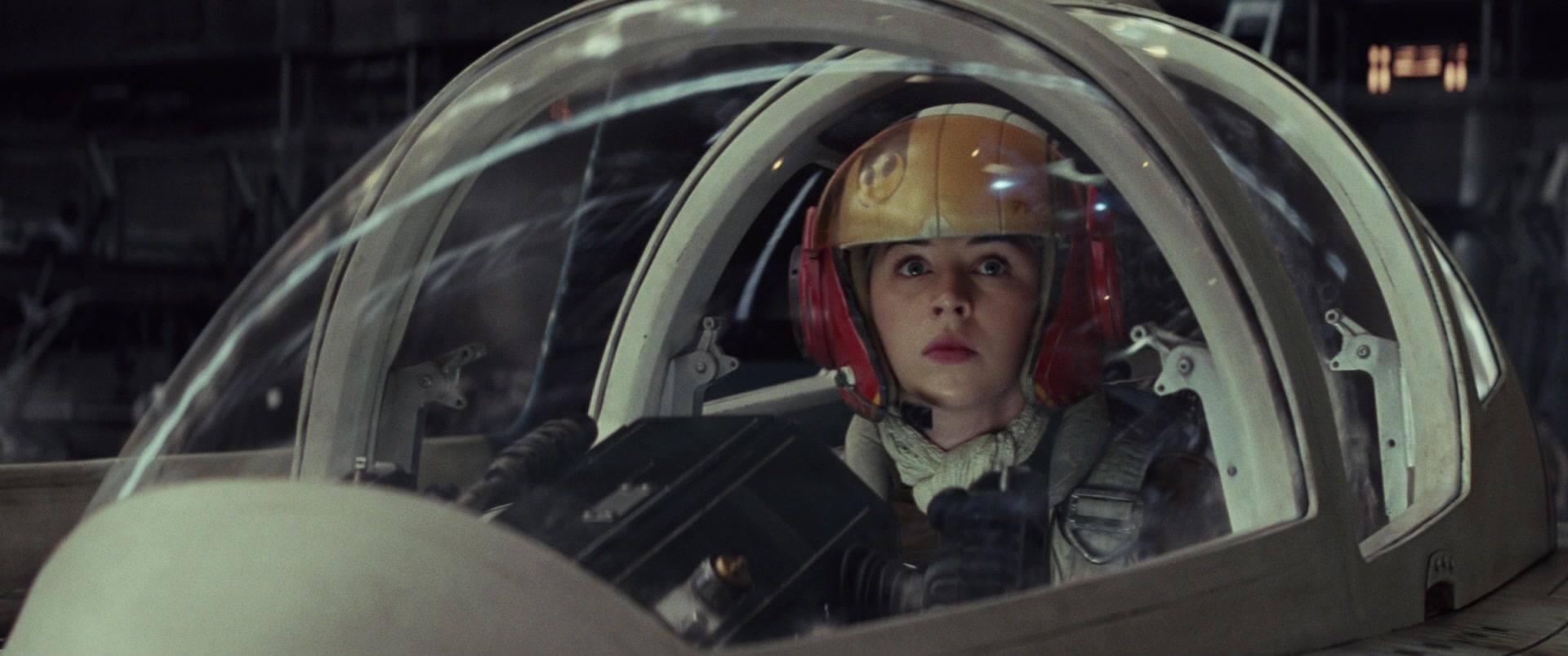 Tallie Lintra in Star Wars: The Last Jedi