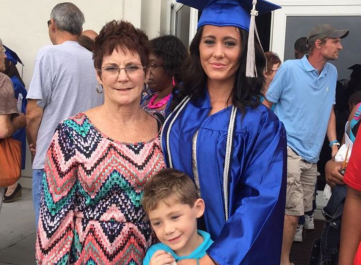 Barbara, Jace, and Jenelle Evans