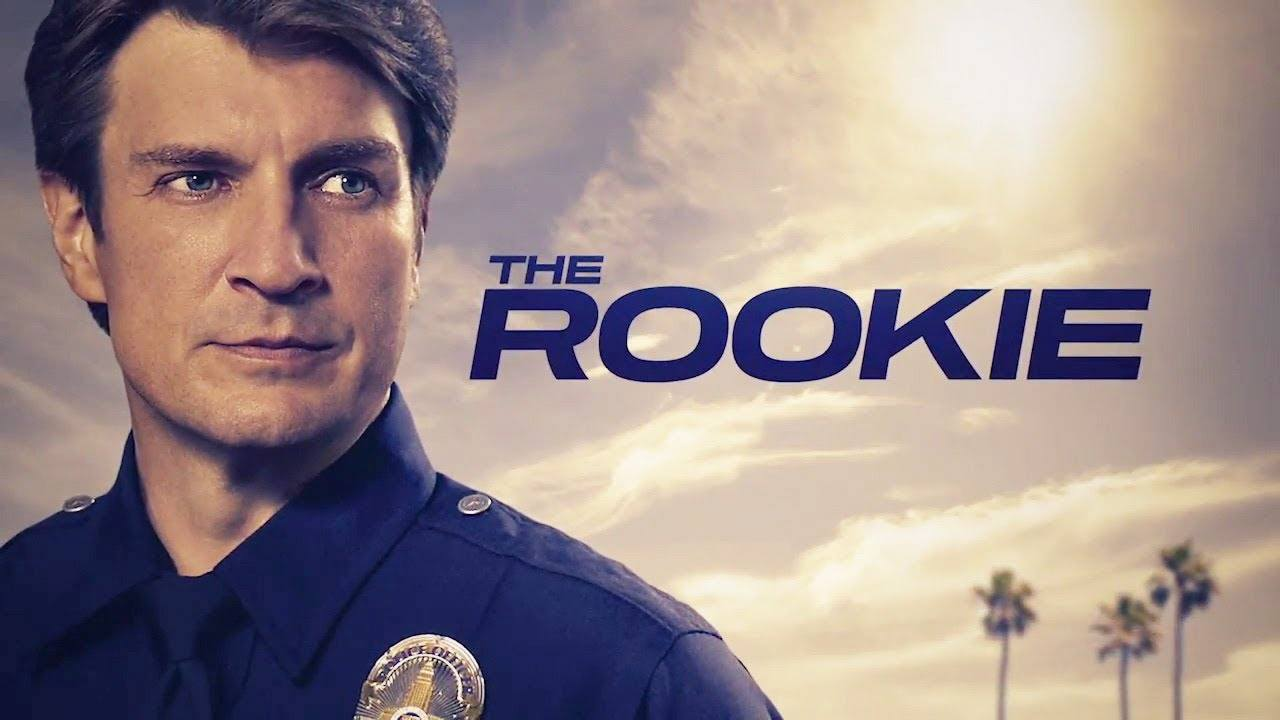 Nathan Fillion on The Rookie.