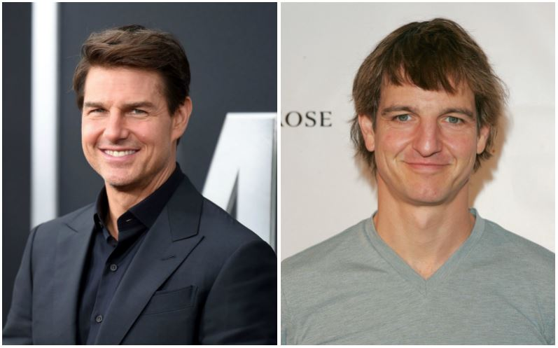 Tom Cruise and William Mapother composite image