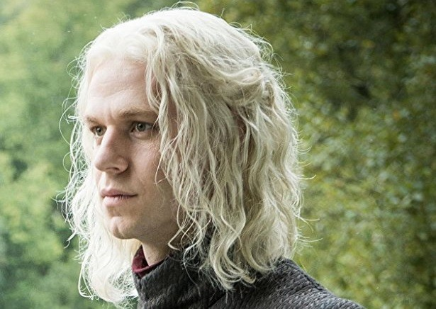 Wilf Scolding as Rhaegar Targaryen on Game of Thrones