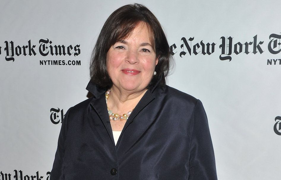 TV personality Ina Garten attends the 10th Annual New York Times