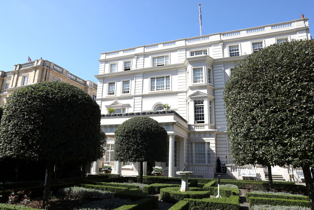 A general view of Clarence House