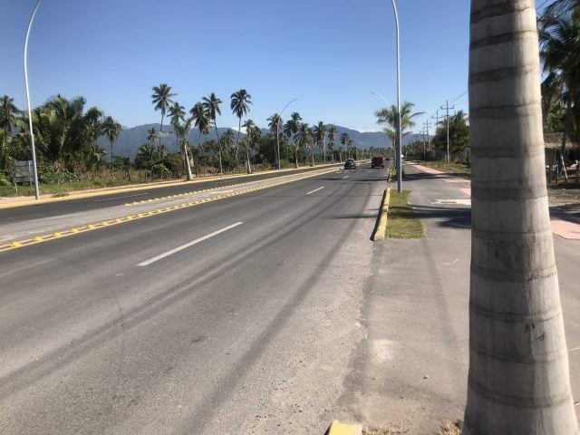 A roadway in Tepic, Mexico