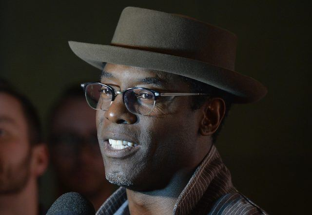 Actor/producer Isaiah Washington arrives to the Outfest Fusion LGBT People of Color Film Fetival Opening Night Screening of 'Blackbird'
