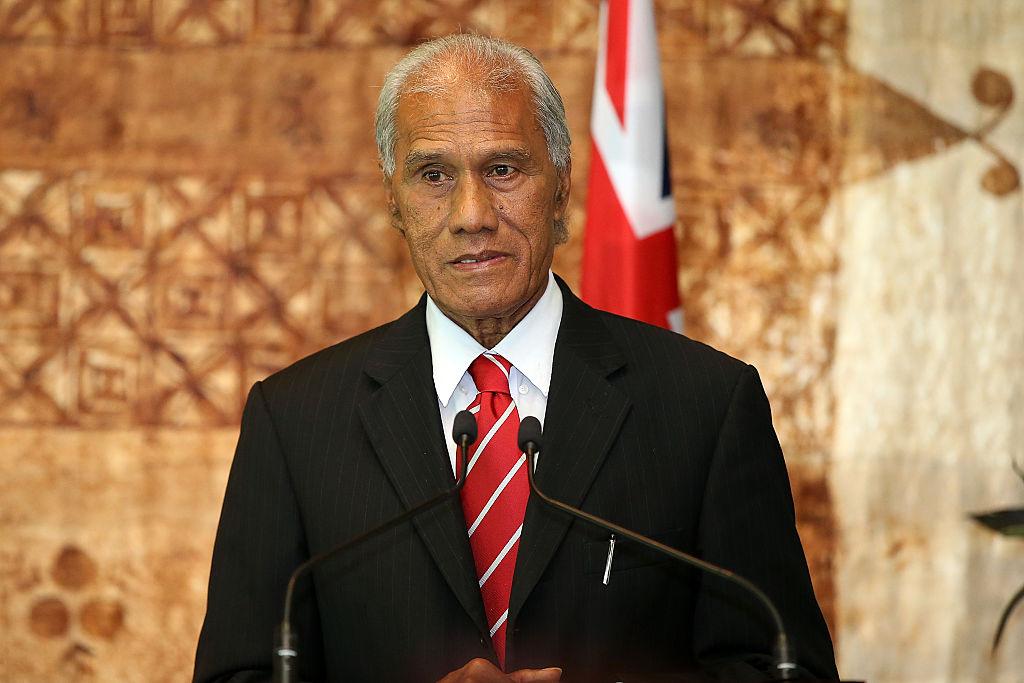 Tongan PM Samuela 'Akilisi Pohiva Visits New Zealand