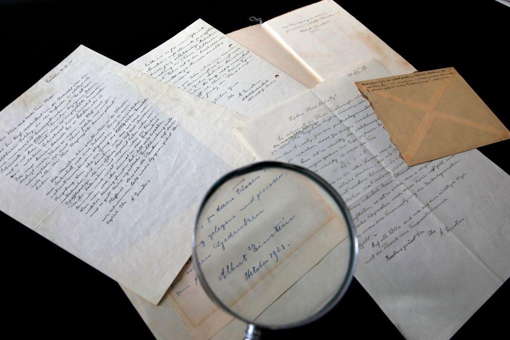 series of letters by Nobel Prize-winning physicist Albert Einstein