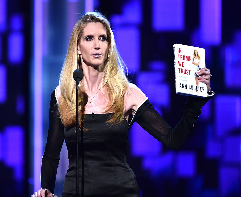 Political commentator/author Ann Coulter