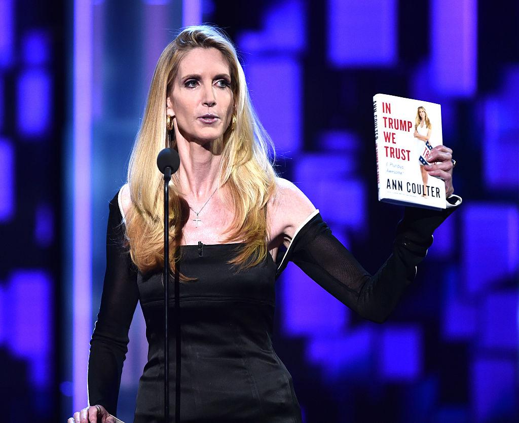 Political commentator/author Ann Coulter