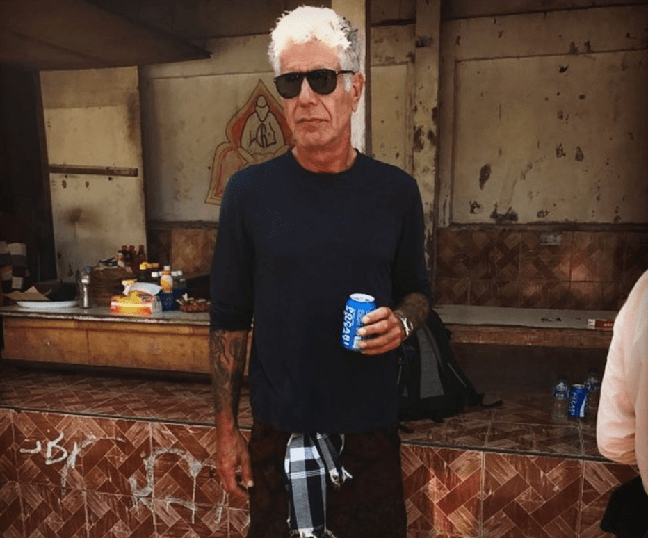 Anthony Bourdain in Bali