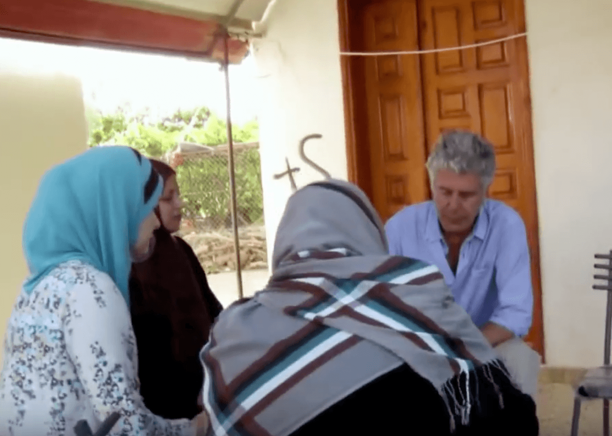 Anthony Bourdain Gaza