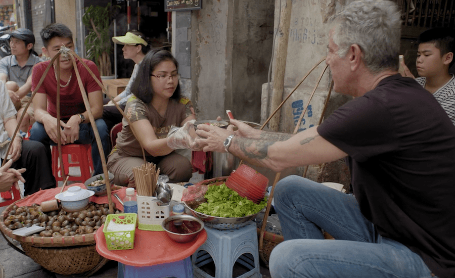 Anthony Bourdain in Hanoi