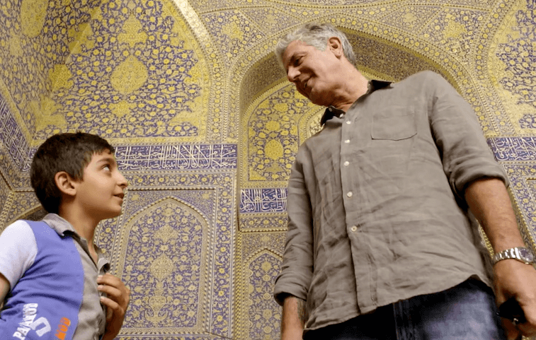 Anthony Bourdain Iran
