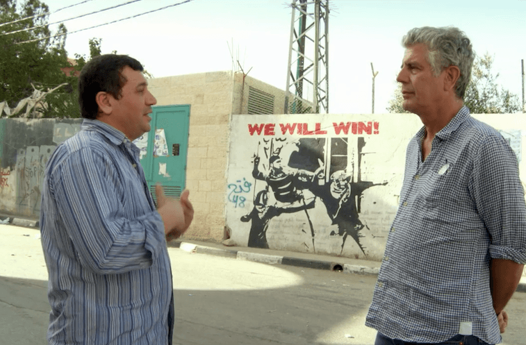 Anthony Bourdain Jerusalem