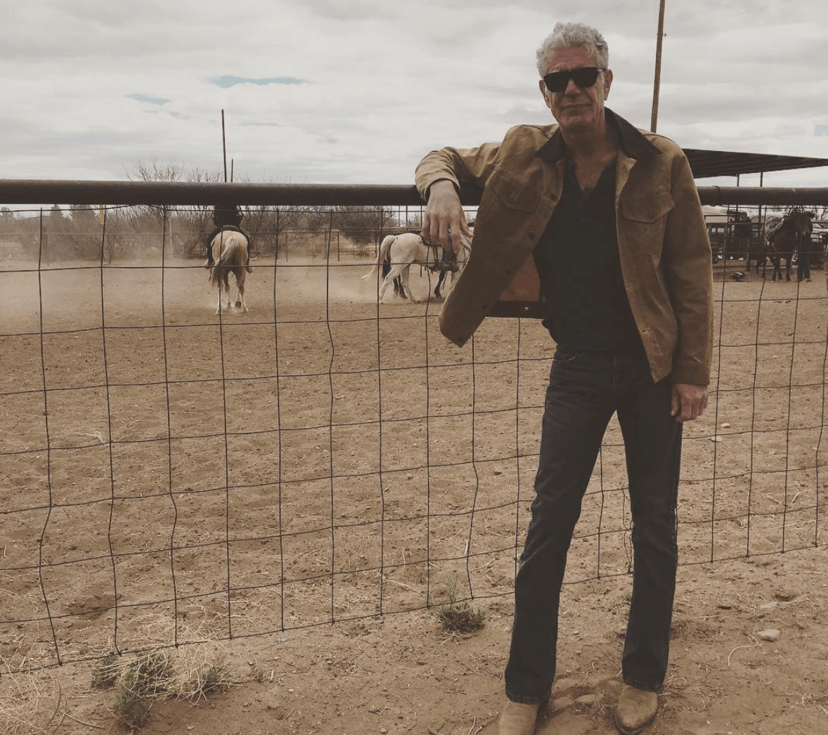Anthony Bourdain rodeo