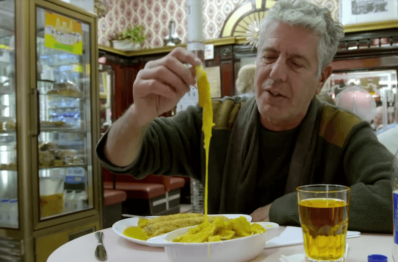 Anthony Bourdain in Scotland