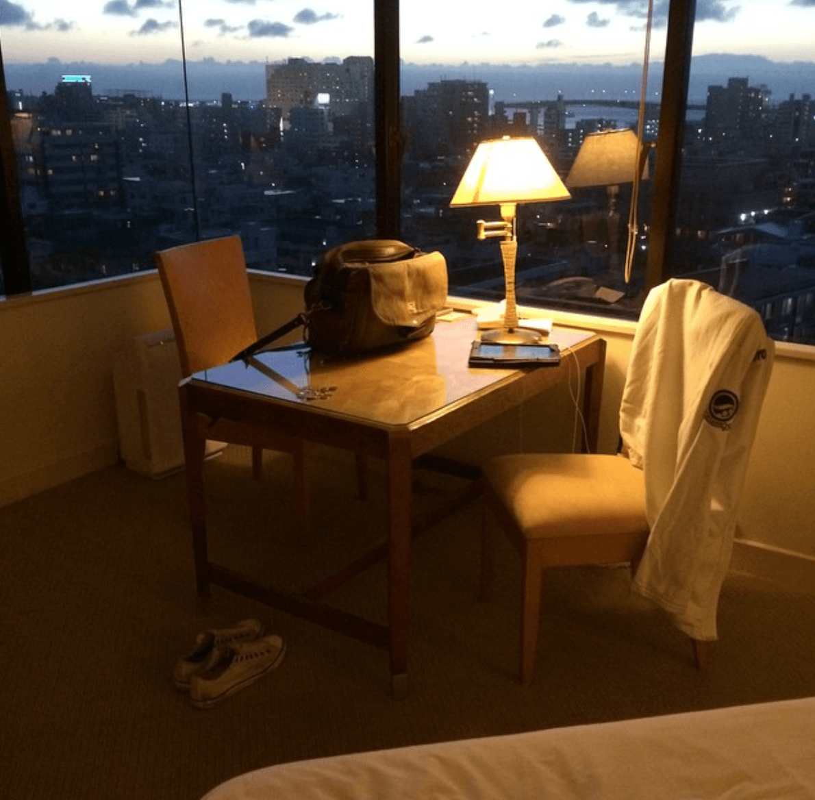 Anthony Bourdain's hotel in Japan