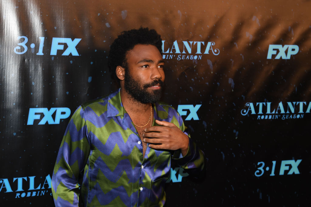 "Actor/recording artist Donald Glover attends ""Atlanta Robbin' Season"" Atlanta Premiere"