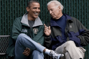 Photos That Reveal the Depths of Barack Obama and Joe Biden's Bromance (and the Meme That Captures Everything)