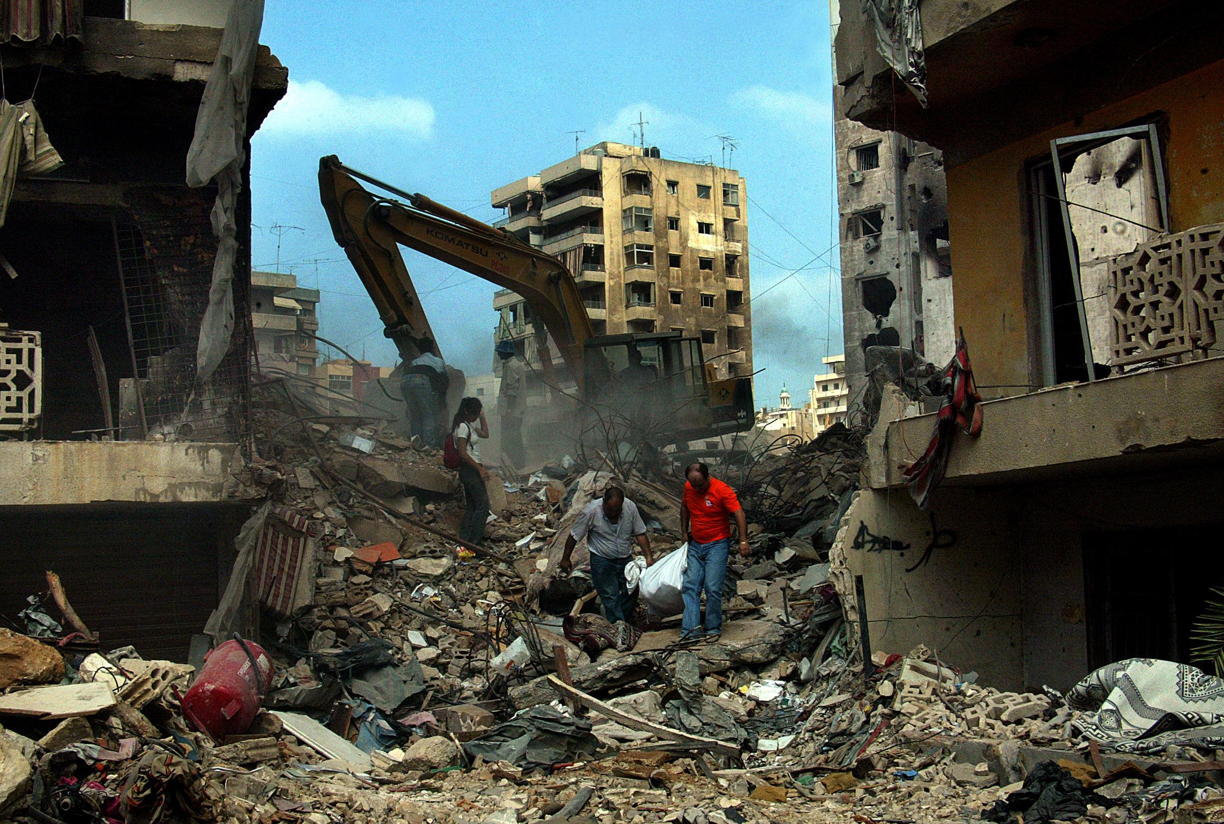 Explosion in Beirut, Lebanon