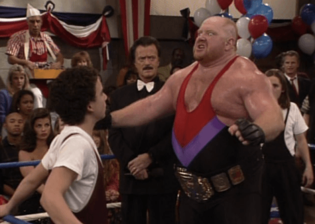 Big Van Vader on 'Boy Meets World'.
