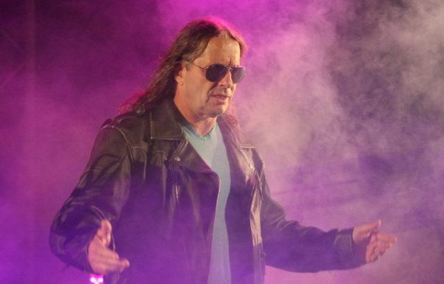 Bret Hart at WWE Smackdown Live Tour in Durban