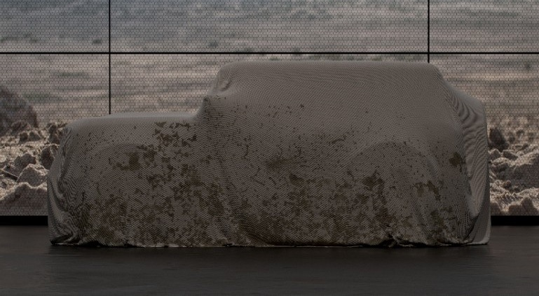 Image of 2020 Ford Bronco under wraps