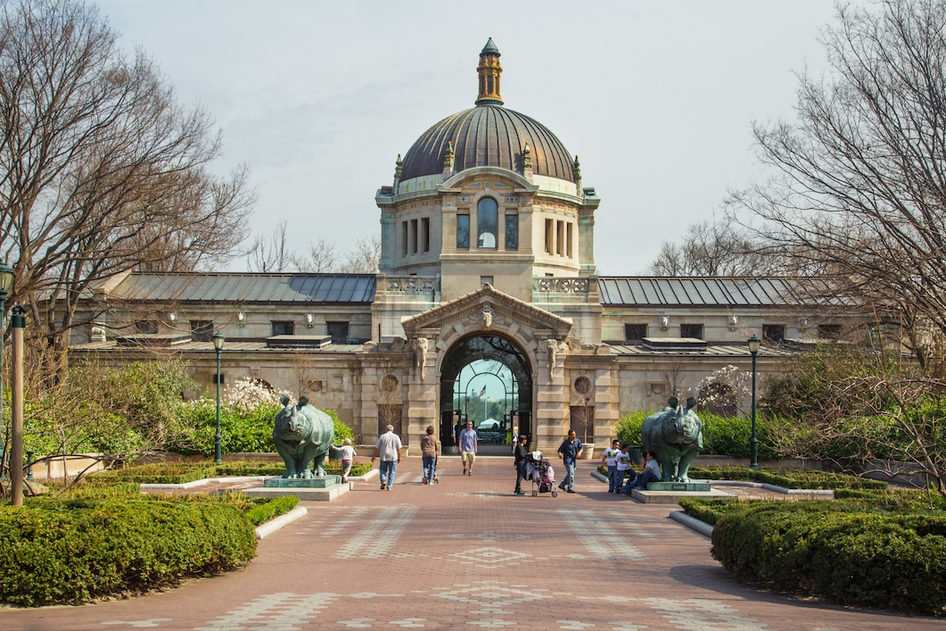 Bronx Zoo Building